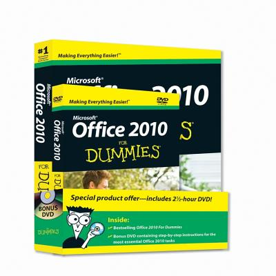 Microsoft Office 2010 for Dummies By Wang, Wallace